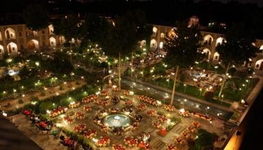 001 3 384x220 - هتل شاه عباسی اصفهان ، زیباترین هتل خاورمیانه | Isfahan