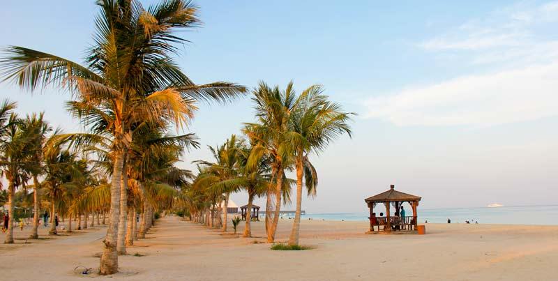 Kish Island beach.Iran  - جاهای دیدنی کیش