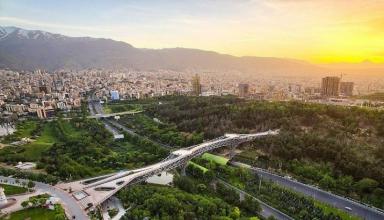 Tabiat Bridge Tehrans modern landmark 384x220 - پارک آب و آتش تهران ، یکی از زیباترین پارک های ایران
