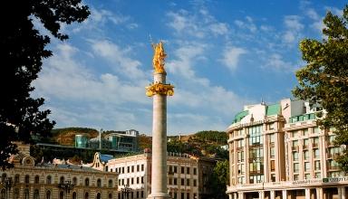 87692 384x220 - میدان آزادی تفلیس ، گرجستان | Tbilisi