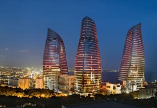 1024px flame towers azerbaijan 320x220 - برج های شعله باکو ، آذربایجان | Baku