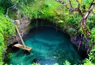 زیباترین استخر شنای طبیعی