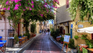 محله پلاکا آتن