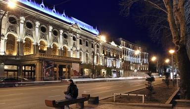 Rustaveli theatre 384x220 - تئاتر روستاولی تفلیس ، گرجستان | Tbilisi