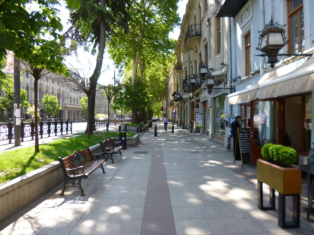خیابان روستاولی تفلیس