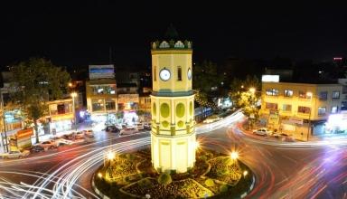 saat tower 2 5 384x220 - جاهای دیدنی ساری ، مازندران | Sari