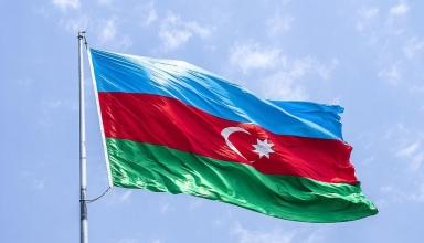 the national flag of azerbaijan 1 384x220 - کارهایی که هرگز نباید در کشور آذربایجان انجام دهید | Azerbaijan