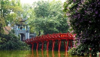 559a4a421b7ee 1 384x220 - دریاچه هوان کیم هانوی ، ویتنام | Hanoi