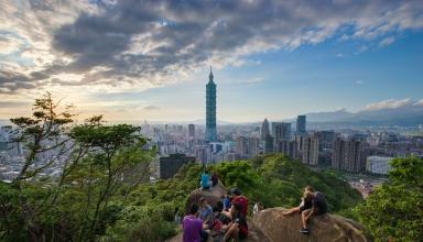 Elephant Mountain 027 384x220 - برج تایپه 101 ، نمادی در پایتخت تایوان | Taiwan