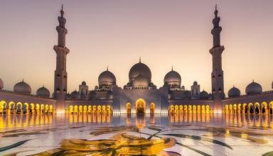 SheikhZayedGrandMosque8 384x220 - مسجد شیخ زاید ابوظبی ، امارات | Abu Dhabi