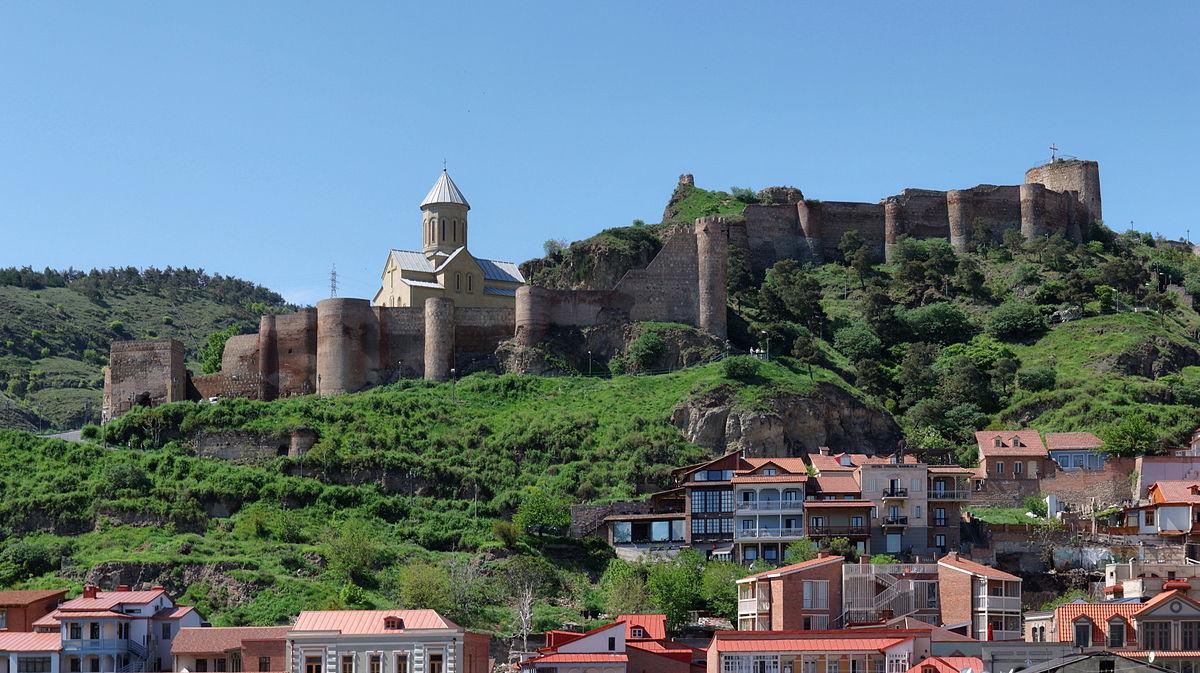 قلعه ناریکالا تفلیس