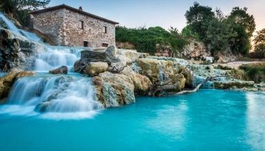 چشمه آب گرم saturina