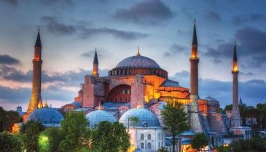 5c0d246dc03c0e15a49c546a 384x220 - تاریخچه کامل مسجد ایاصوفیه استانبول ، ترکیه | Istanbul