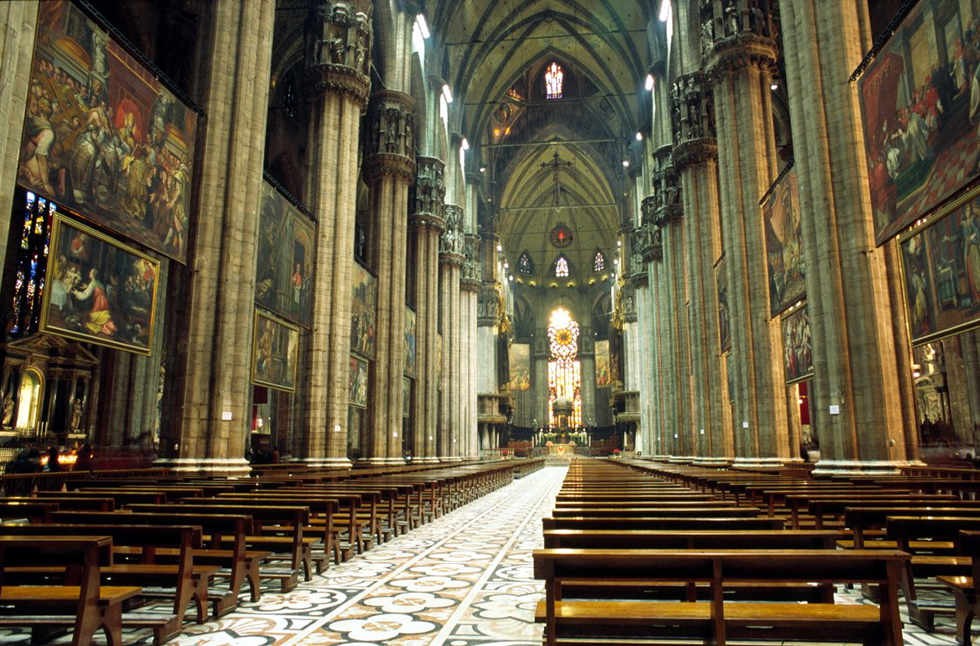 6milan - کلیسای جامع میلان ، شاهکار معماری گوتیک در ایتالیا | Milan