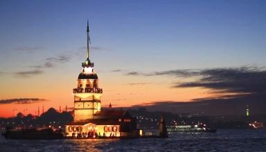 8 384x220 - تاریخچه برج دختر استانبول ، ترکیه | Istanbul