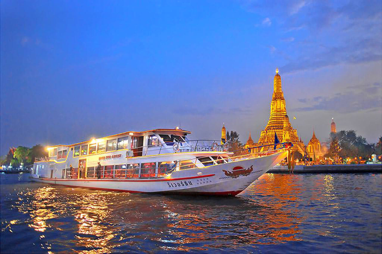 Ayutthaya One Day Tour and Cruise by River Sun Cruise - رودخانه چائو فرایا بانکوک ، تایلند | Thailand