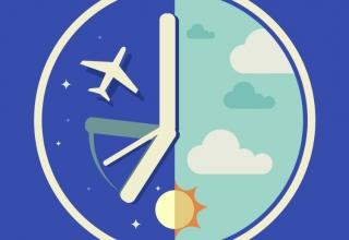 JET LAG 2 320x220 - جت لگ (Jet lag) یا پرواز زدگی چیست ؟