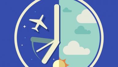 JET LAG 2 384x220 - جت لگ (Jet lag) یا پرواز زدگی چیست ؟