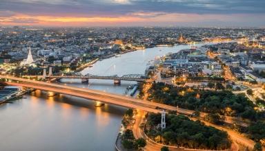 poster 384x220 - رودخانه چائو فرایا بانکوک ، تایلند | Thailand