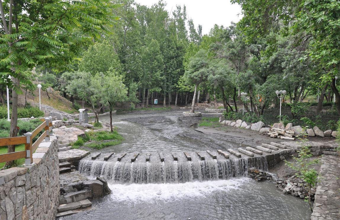 دریاچه پارک وکیل آباد مشهد