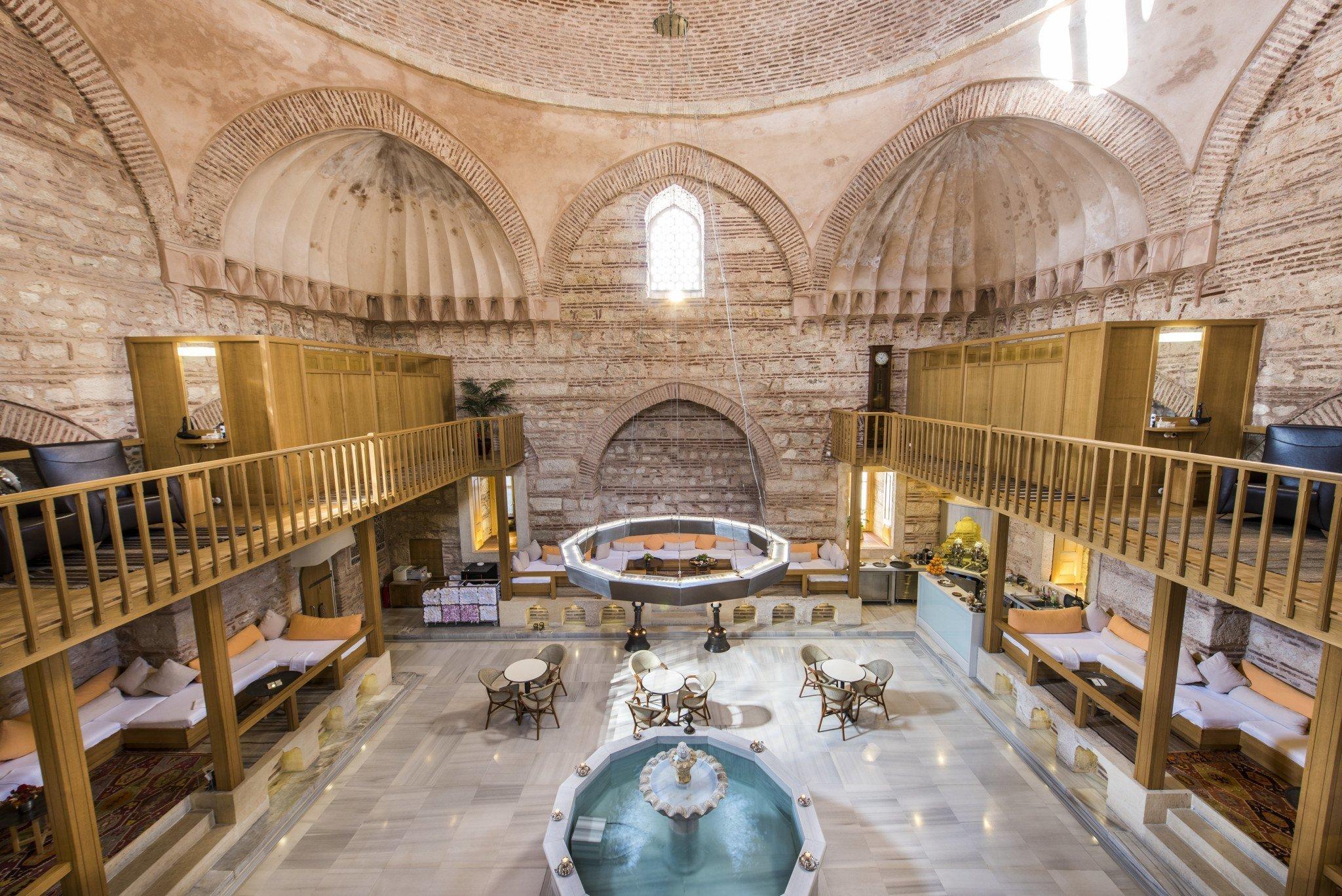 Kılıç Ali Paşa Turkish Bath - حمام خرم سلطان استانبول ، ترکیه | Istanbul