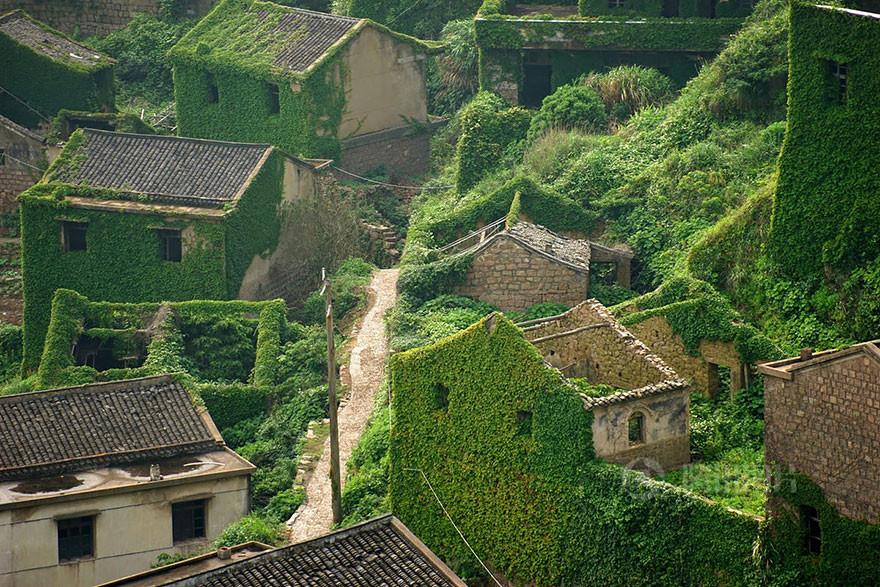 abandoned village zhoushan china 103 - هوتوان Houtouwan، روستای سرسبز متروکه | چین