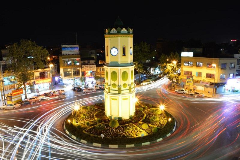 saat tower 2 5 - میدان ساعت ساری ، مازندران | Sari