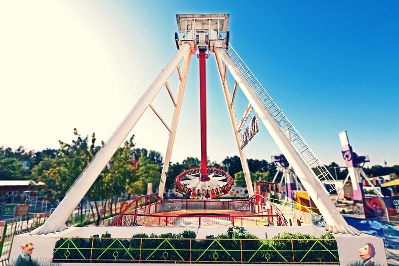 tab gardan b - پارک ملت مشهد ، محل بزرگترین چرخ و فلک خاورمیانه | Mashhad
