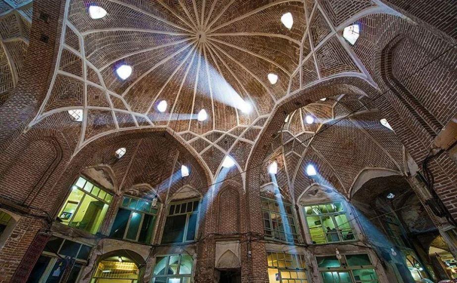 2 - بازار تبریز ، مهمترین و بزرگترین بازار سرپوشیده در جهان | Tabriz