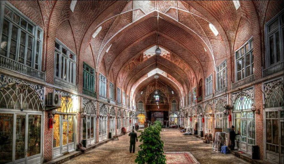 4 - بازار تبریز ، مهمترین و بزرگترین بازار سرپوشیده در جهان | Tabriz