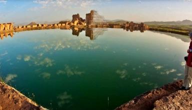 1 6 e1563868434728 384x220 - دریاچه تخت سلیمان ، بیانگر تاریخ و تمدن ها