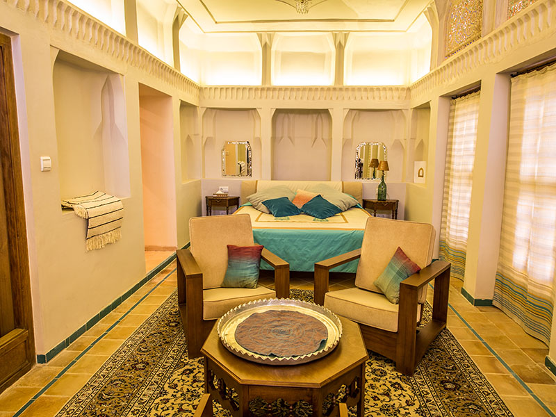 342b3d4ebeb64be79623fd91ef3f70f5 large - سرای عامری ها ، بزرگترین خانه تاریخی کاشان | Kashan