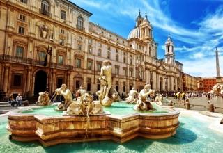 PiazzaNavona 320x220 - میدان ناوونا در رم ، ایتالیا | Rome