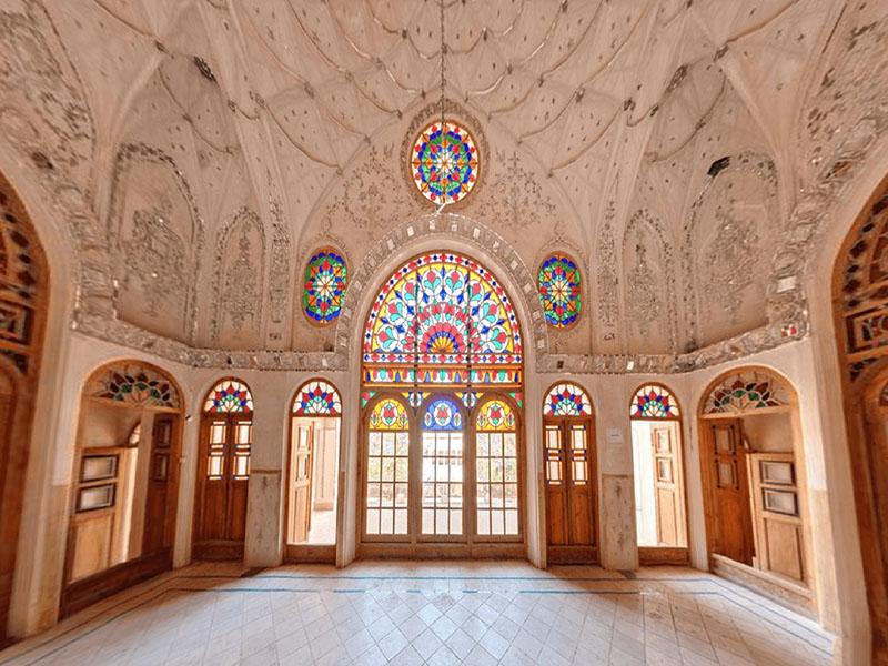ameri home kashan - سرای عامری ها ، بزرگترین خانه تاریخی کاشان | Kashan