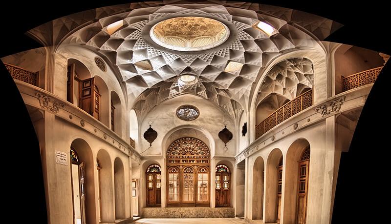 ameriha house 1 - سرای عامری ها ، بزرگترین خانه تاریخی کاشان | Kashan