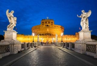 castel sant angelo 320x220 - قلعه سنت آنجلو در رم ، ایتالیا | Rome