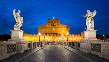 castel sant angelo 384x220 - قلعه سنت آنجلو در رم ، ایتالیا | Rome