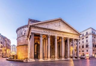pantheon4 320x220 - معبد پانتئون در رم ، ایتالیا | Rome