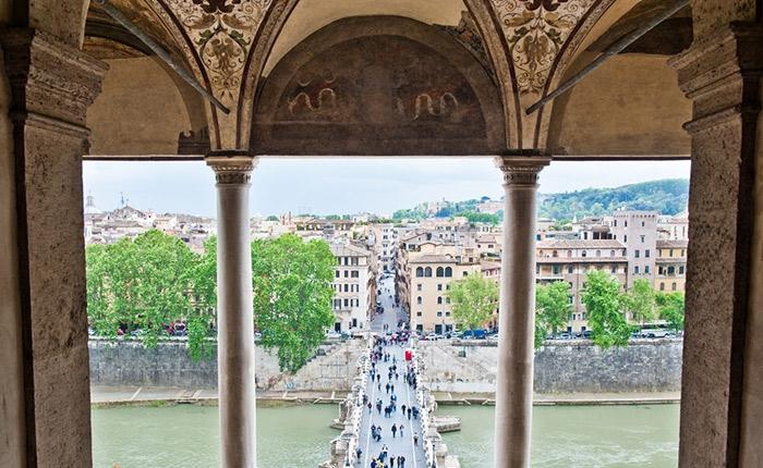 shutterstock 438171637 e1562741311236 - قلعه سنت آنجلو در رم ، ایتالیا | Rome