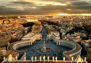 st peters basilica rome 2 320x220 - میدان سنت پیتر رم ، ایتالیا | Rome