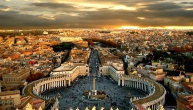 st peters basilica rome 2 384x220 - میدان سنت پیتر رم ، ایتالیا | Rome