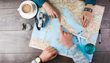 trave planning 384x220 - اشتباهات رایج در سفر به اروپا (قسمت اول) | Europe