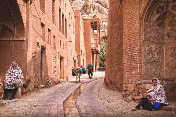 18 - روستای ابیانه ، روستایی زیبا در اصفهان | Abyaneh