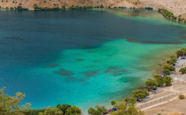 نزدیک دریاچه 650x404 - دریاچه گهر دورود ، لرستان | Lorestan