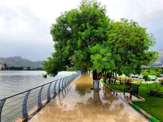 کیو 650x488 - دریاچه کیو ، دریاچه ای زیبا در قلب خرم آباد | Khorramabad