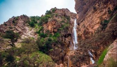 1 10 384x220 - آبشار نوژیان خرم آباد ، لرستان | Khorramabad