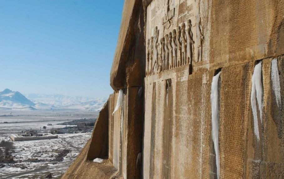 6 - مجموعه تاریخی بیستون کرمانشاه | Bisotun