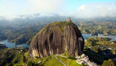صخره گواتاپی کلمبیا