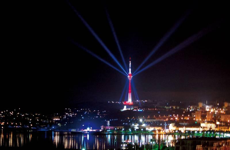 برج تلویزیون باکو