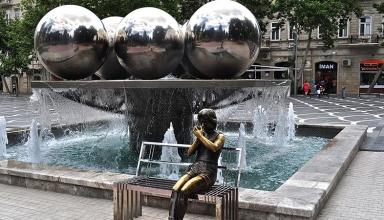 Fountain 384x220 - میدان فانتین باکو ، آذربایجان | Baku